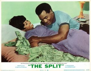 The Split US Lobby Card Set 1968 with Jim Brown