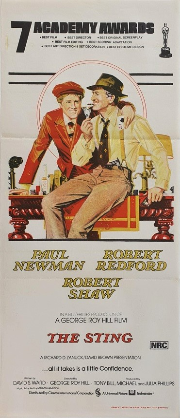 The Sting Daybill Poster