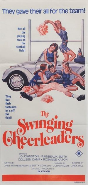 The Swinging Cheerleaders Australian Daybill Poster