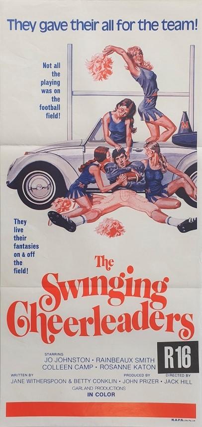 The Swinging Cheerleaders Australian Daybill Poster