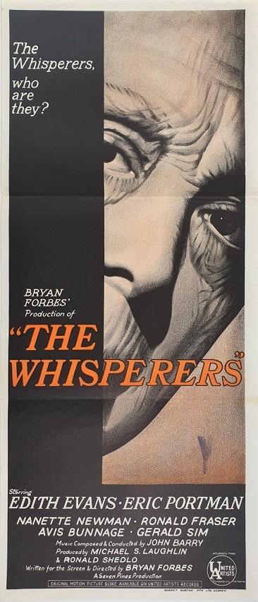 The Whisperers Australian Daybill Poster
