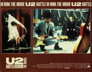 U2 Rattle and Hum Lobby Card (5)