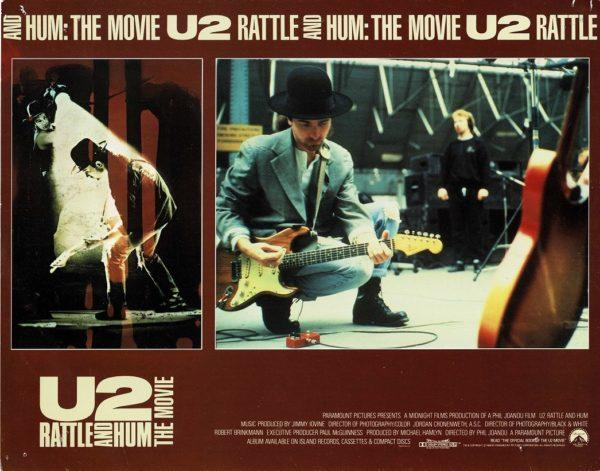 U2 Rattle and Hum Lobby Card (5)