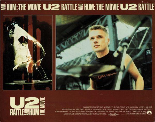U2 Rattle and Hum Lobby Card (6)