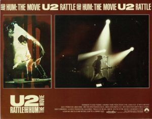 U2 Rattle and Hum Lobby Card (7)