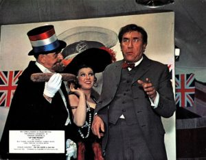 Up The Front UK Lobby Card