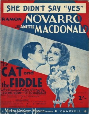 the cat and the fiddle sheet music