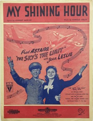 the sky's the limit sheet music with fred astaire
