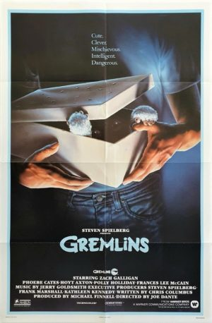 Gremlin's US One Sheet poster