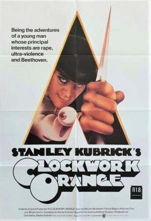 A Clockwork Orange Australian One Sheet poster (9)