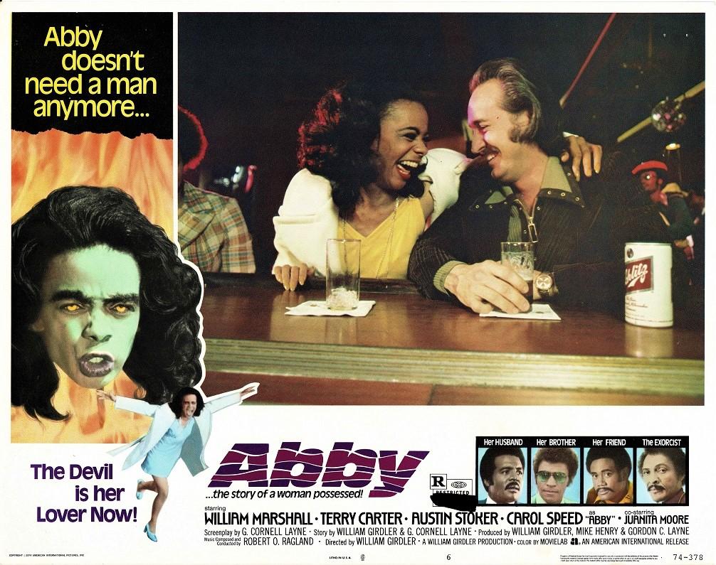 Abby 1974 US Lobby Card Blaxploitation Horror (10)