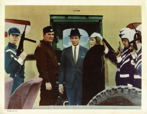 Assassination in rome US lobby Card 1965