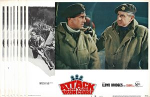 Attack On The Iron Coast US Lobby Card Set with Lloyd Bridges