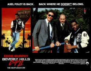 Beverly Hills Cop 2 UK Lobby Card with Eddie Murphy 1987