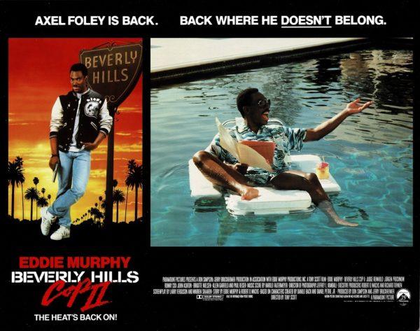 Beverly Hills Cop 2 UK Lobby Card with Eddie Murphy 1987