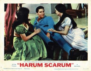 Harum Scarum US Lobby Card with Elvis Presley