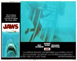 Jaws US Lobby Card 1975