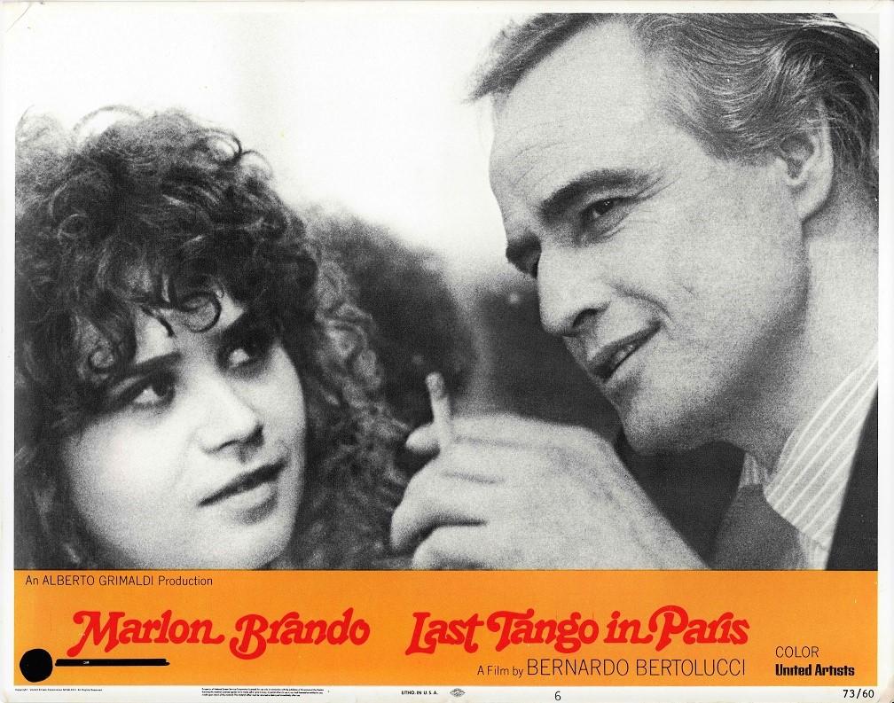 Last Tango In Paris US Lobby Card