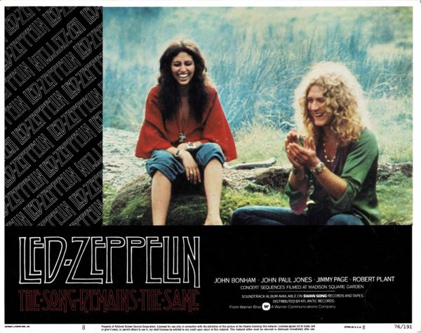Led Zeppelin The Song Remains The Same US Lobby Card (8)