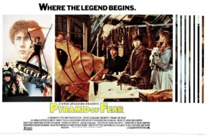 Pyramid of Fear UK lobby card set