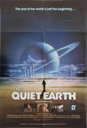 Quiet Earth New Zealand One Sheet Poster (2)