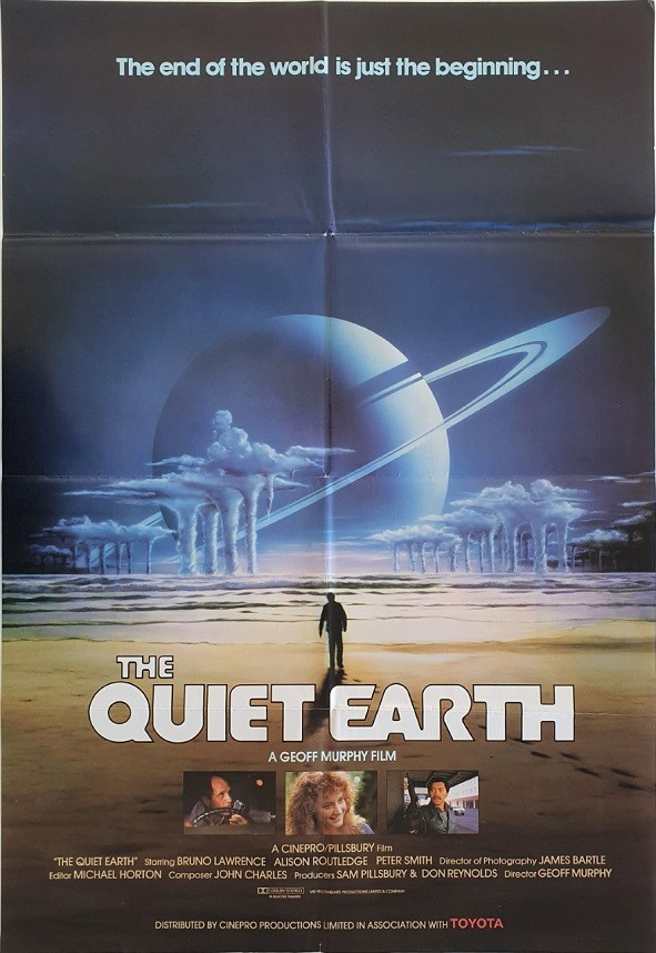 Quiet Earth New Zealand One Sheet Poster
