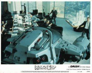 Robocop US Lobby Card 1987