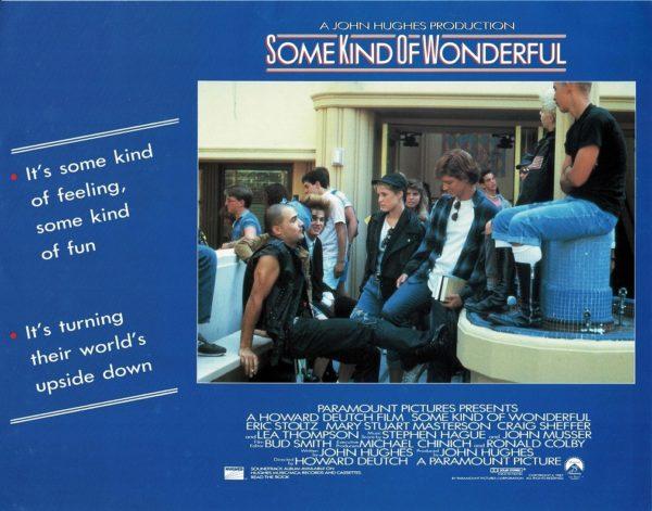 Some Kind of Wonderful UK Lobby Card 1987 by John Hughes