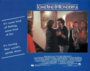 Some Kind of Wonderful UK Lobby Card 1987
