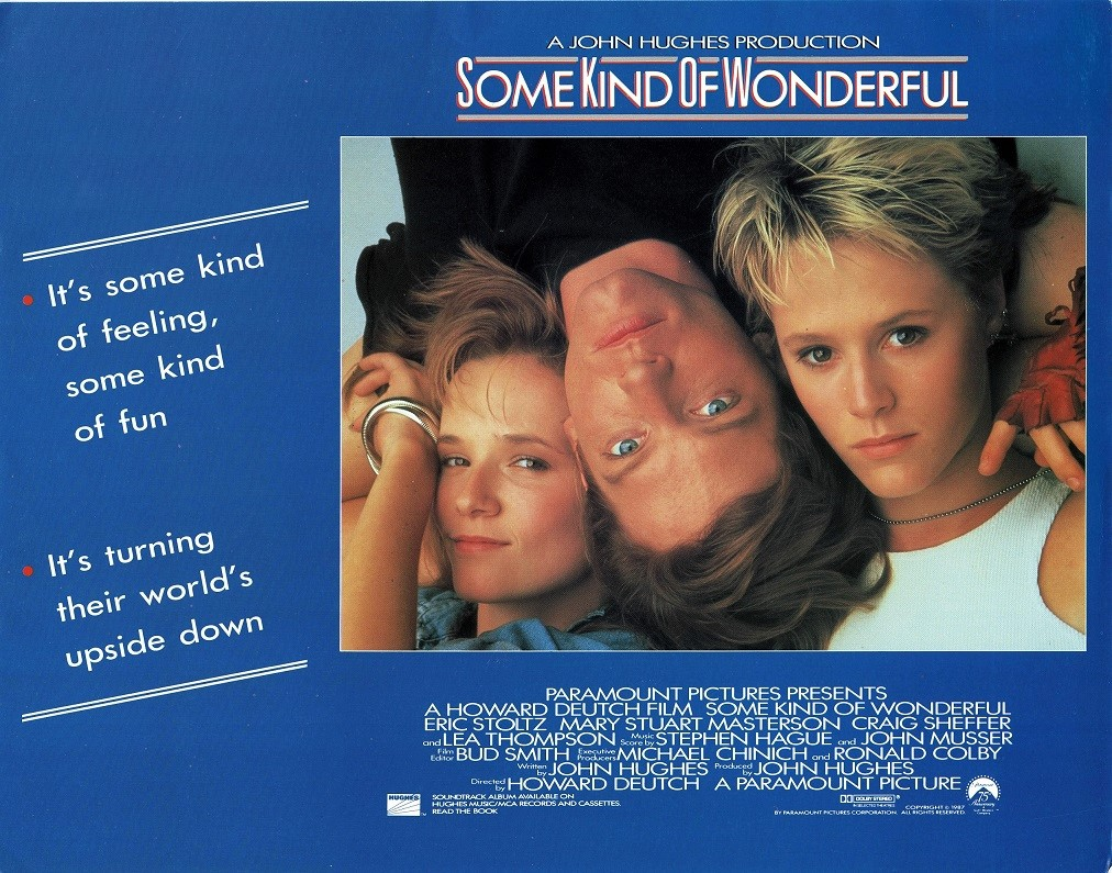Some Kind of Wonderful UK Lobby Card 1987 by John Hughes