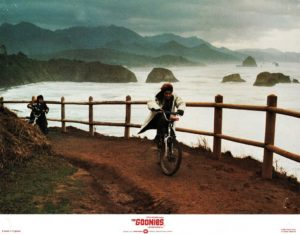 The Goonies UK Lobby Card