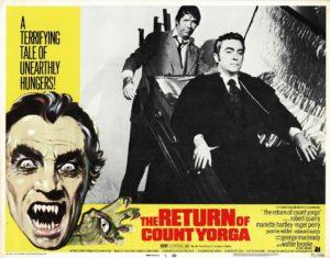 The return of count Yorga US Lobby Card 1971