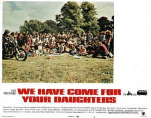 We Have Come For Your Daughters US Lobby Card 1971 also known as Medicine Ball Caravan with B B King Alice Cooper The Youngbloods