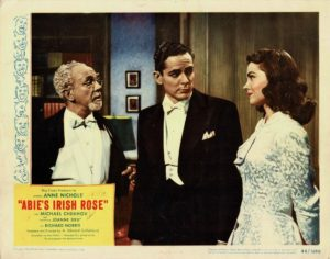 Abie's Irish Rose 1946 US Lobby Card