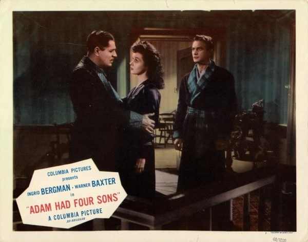 Adam Had Four Sons 1948 US Lobby Card with Ingrid Bergman