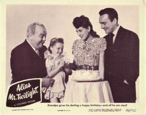 Alias Mr Twilight 1946 Lobby Card