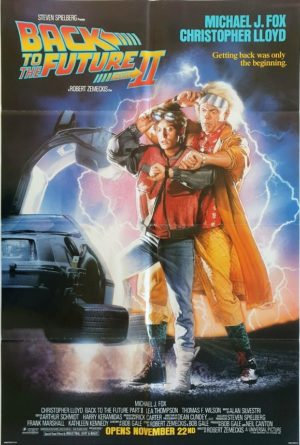 Back to the Future 2 One Sheet Poster