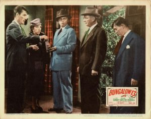 Bungalow 13 US Lobby Card 1948 with Tom Conway