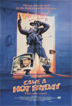 Came A Hot Friday NZ One Sheet Poster Billy T James