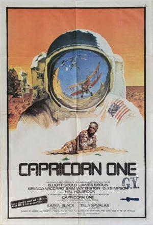 Capricorn One Australian One Sheet Poster