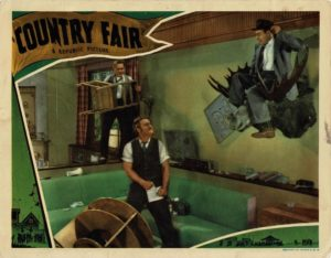 Country Fair 1941 US Lobby Card