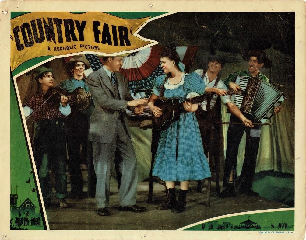 Country Fair 1941 US Lobby Card