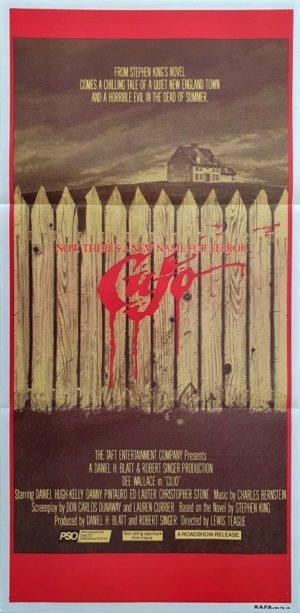 Cujo Australian daybill poster