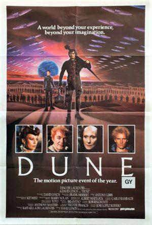 Dune Australian One Sheet Poster