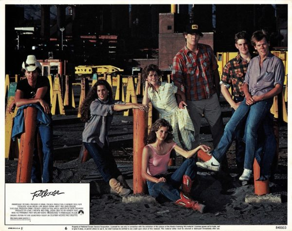 Footloose US Lobby Card 1984 with Kevin Bacon (4)