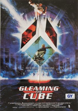 Gleaming the Cube NZ One Sheet Poster with Tony Hawks