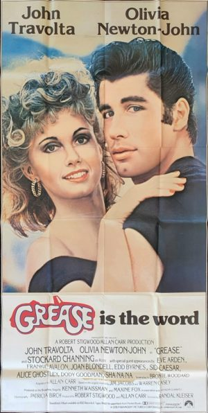 Grease US Three 3 Sheet poster