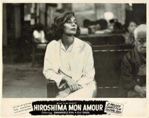 Hiroshima Mon Amour 1959 Australian Lobby Card Blake Films