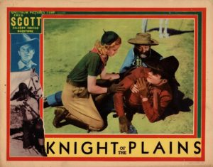 Knight Of The Plains US Lobby Card 1938 with Fred Scott and Produced by Stan Laurel (4)