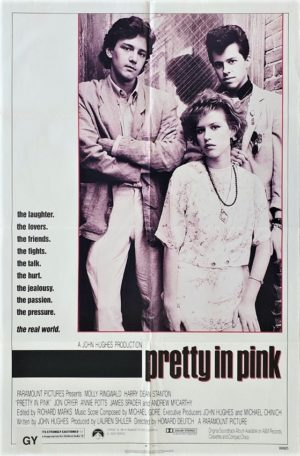 Pretty In Pink US One Sheet Poster with John Hughes
